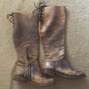 Bed Stu knee high Manchester boots 9.5